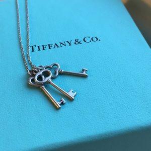 Tiffany & Co. Three Keys Pendant